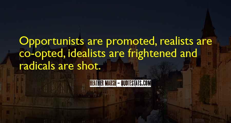 Quotes About Realists #1376420