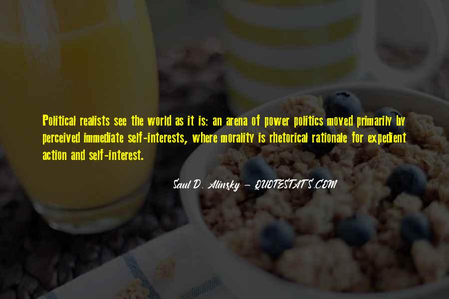 Quotes About Realists #140796