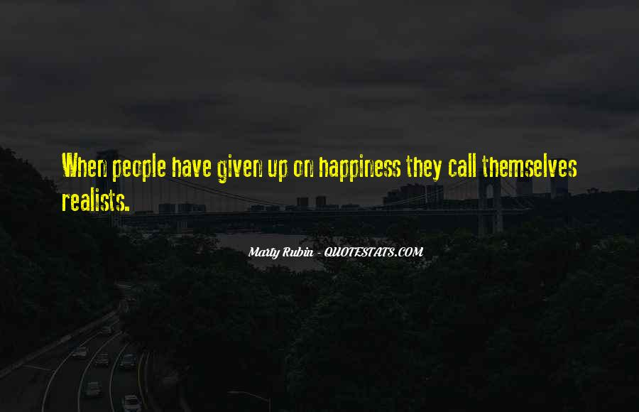Quotes About Realists #1459368