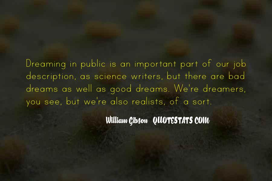 Quotes About Realists #1627494