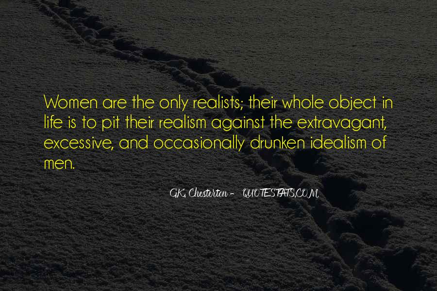 Quotes About Realists #1844590