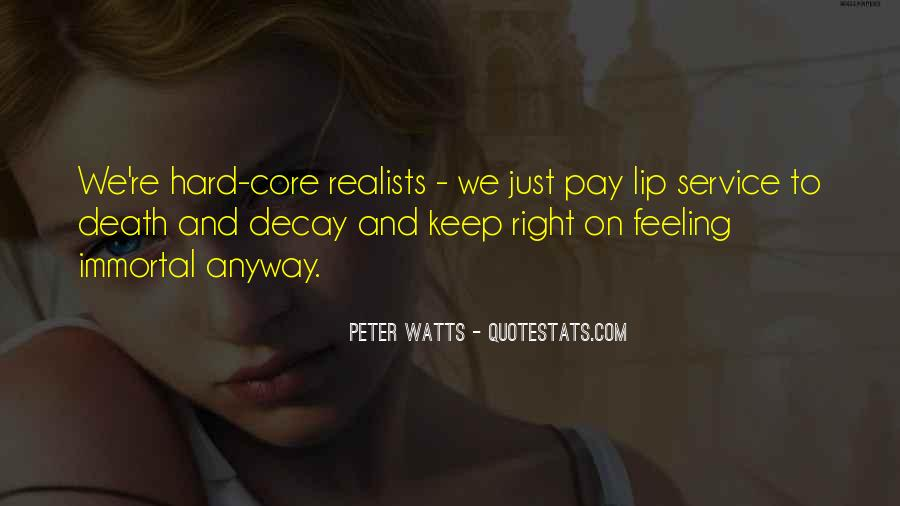Quotes About Realists #189432