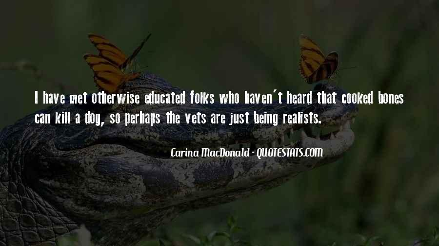 Quotes About Realists #21909