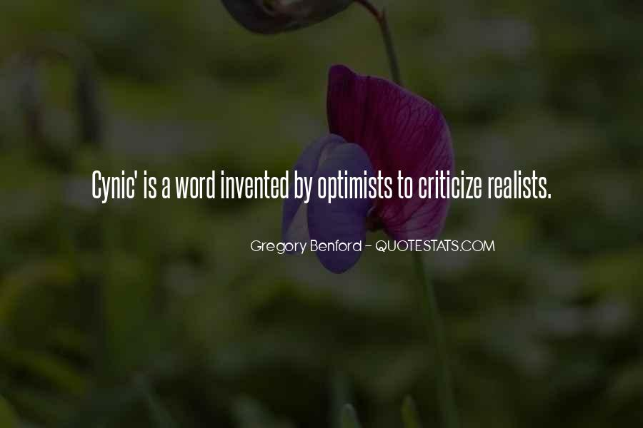 Quotes About Realists #299871