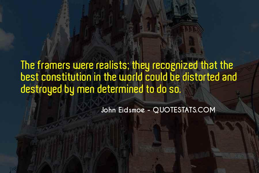 Quotes About Realists #457610