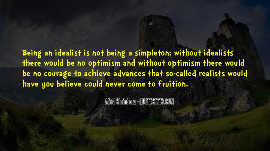 Quotes About Realists #475438