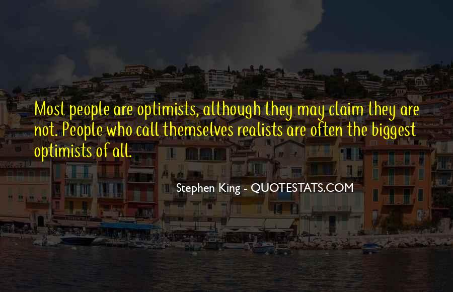 Quotes About Realists #499800