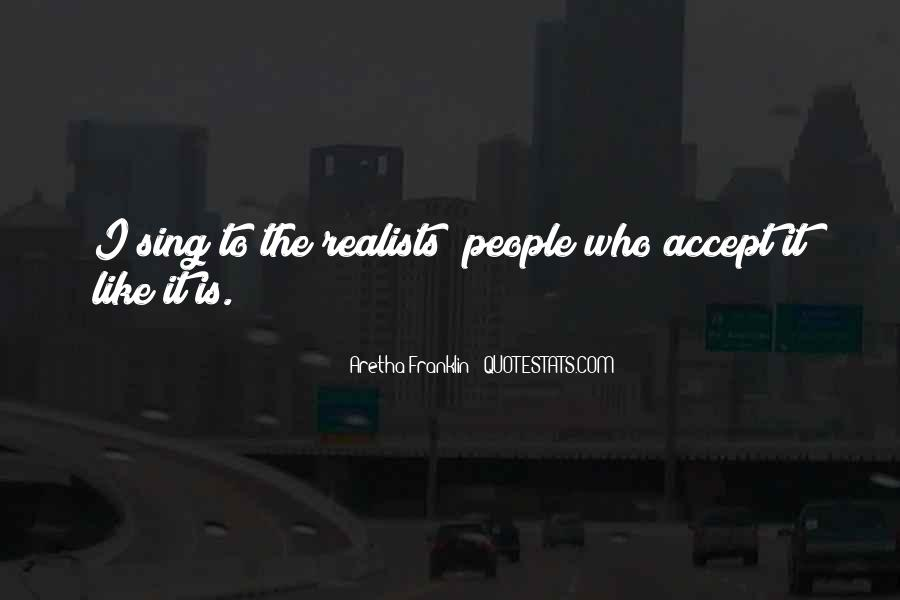 Quotes About Realists #73931