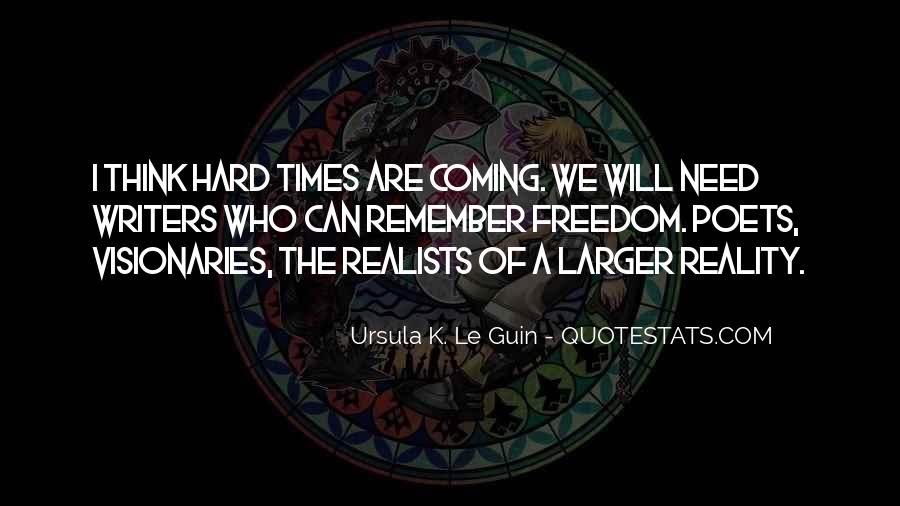 Quotes About Realists #804693