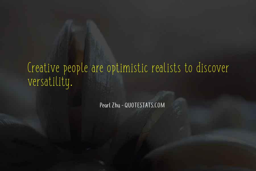 Quotes About Realists #83574