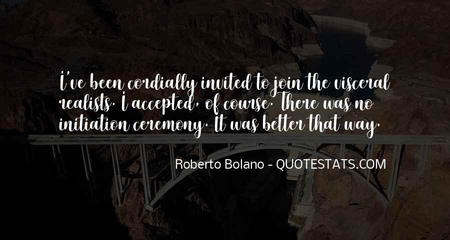 Quotes About Realists #973287