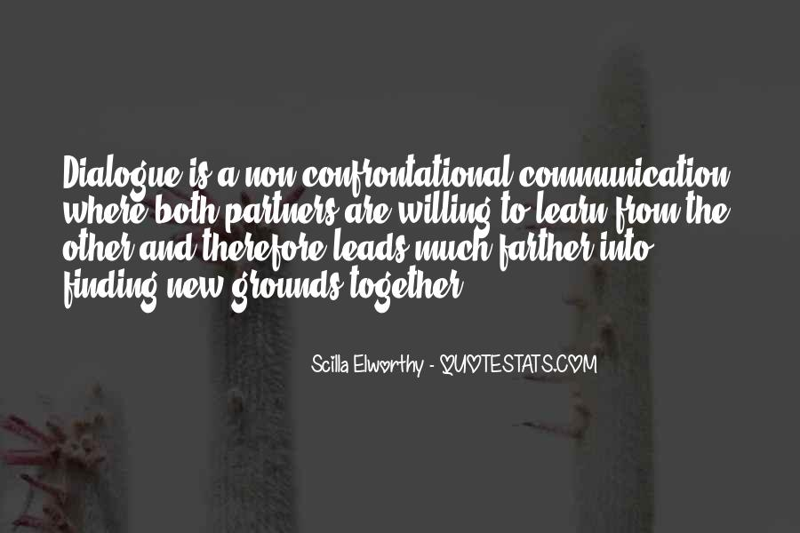Quotes About Being Non Confrontational #1119934