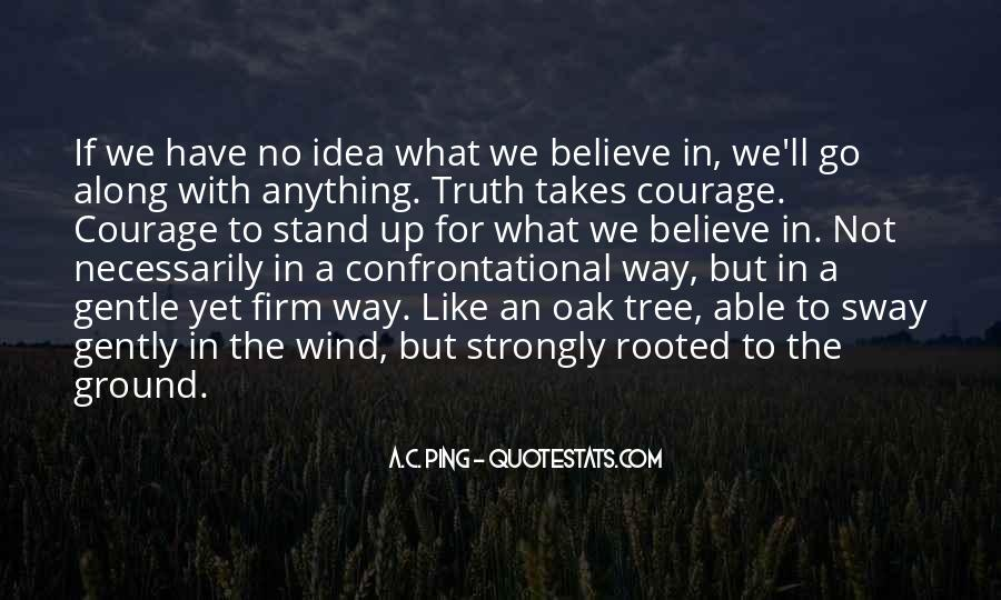 Quotes About Being Non Confrontational #161328
