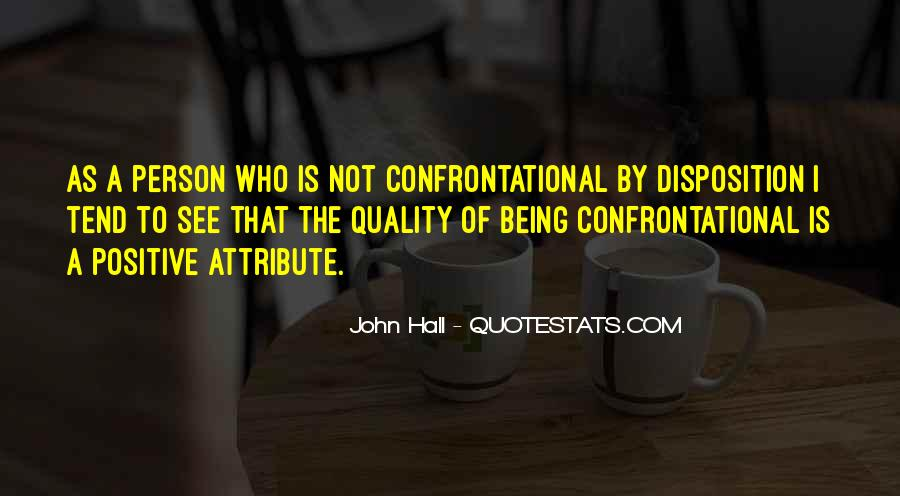 Quotes About Being Non Confrontational #286163