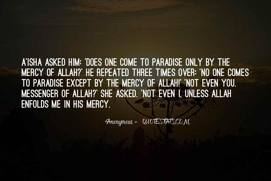 Quotes About Mercy In Islam #1363470