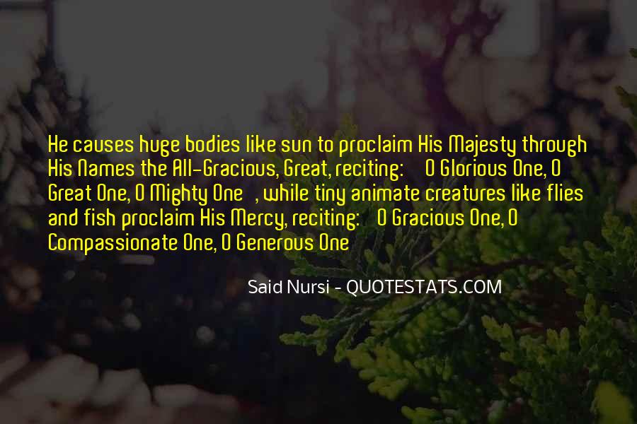 Quotes About Mercy In Islam #1479807