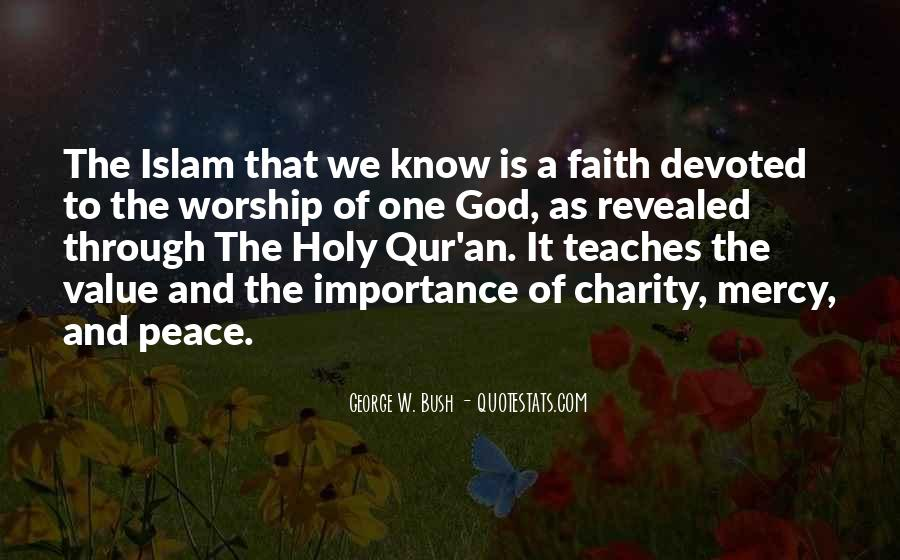 Quotes About Mercy In Islam #177650