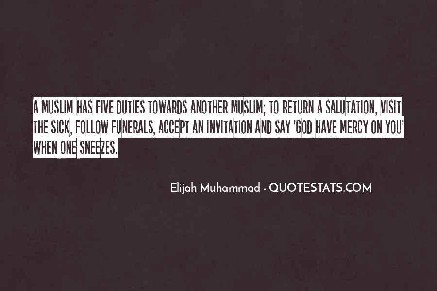 Quotes About Mercy In Islam #536480