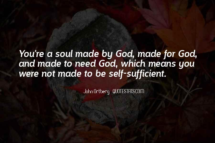Quotes About Self And God #169728