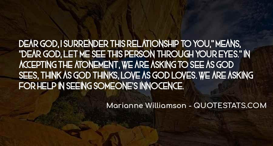 Quotes About Seeing Yourself Through Others Eyes #123509