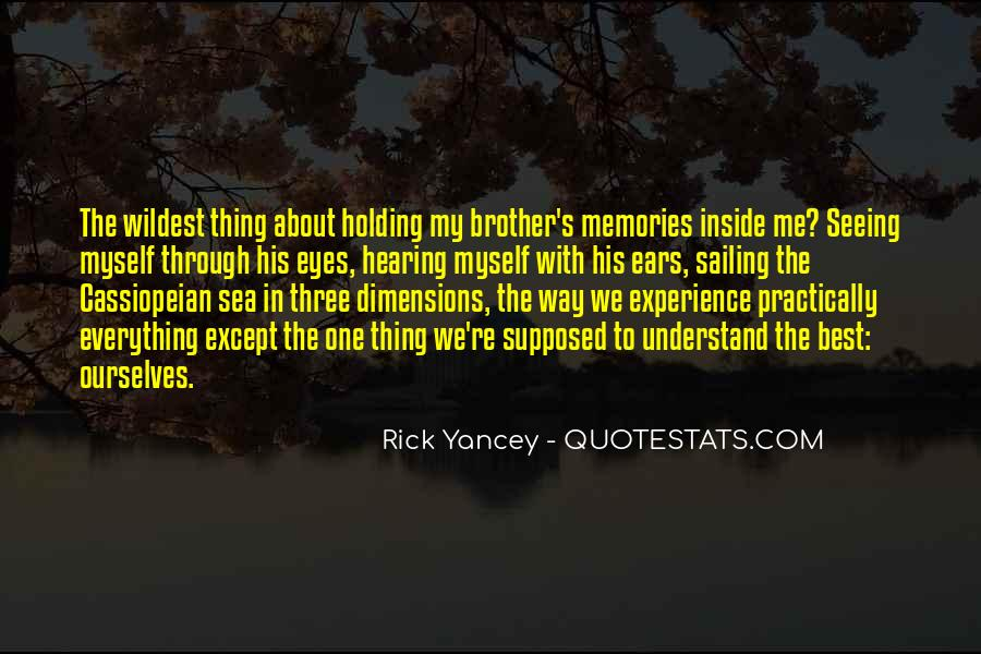 Quotes About Seeing Yourself Through Others Eyes #691532