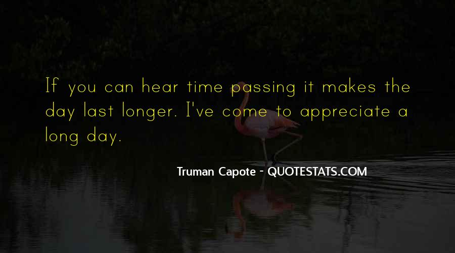 Quotes About Time Passing #247987