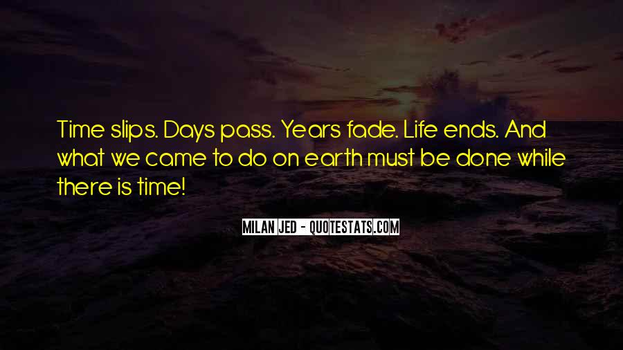 Quotes About Time Passing #348209