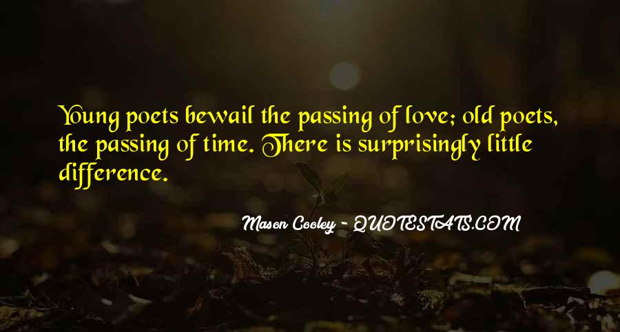 Quotes About Time Passing #369061
