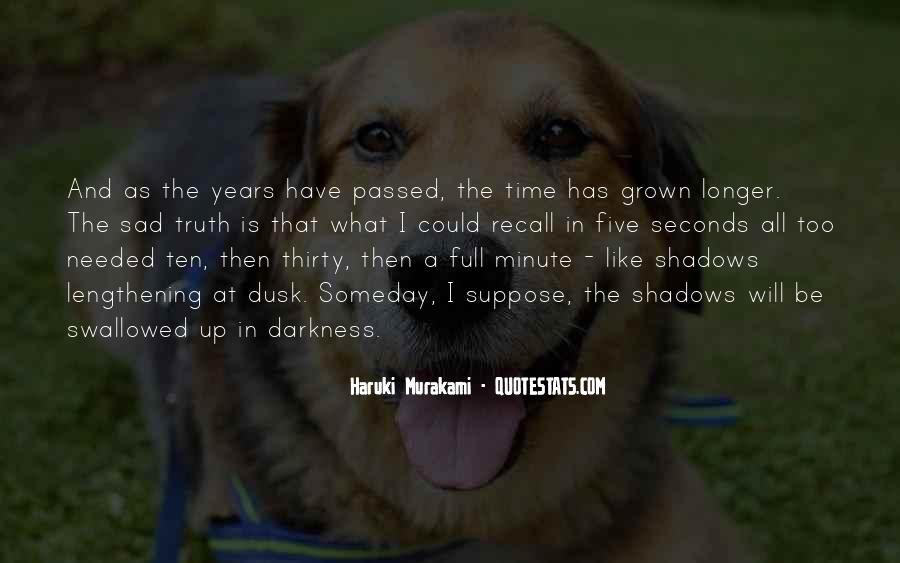 Quotes About Time Passing #388480
