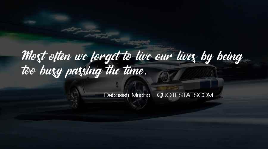 Quotes About Time Passing #400860