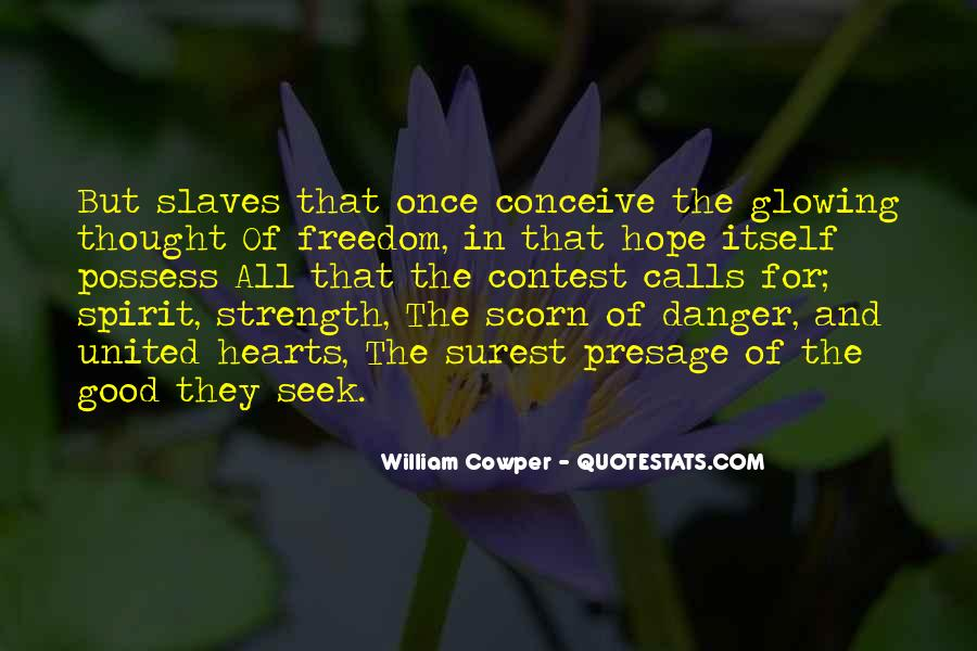 Quotes About The Danger Of Hope #347133