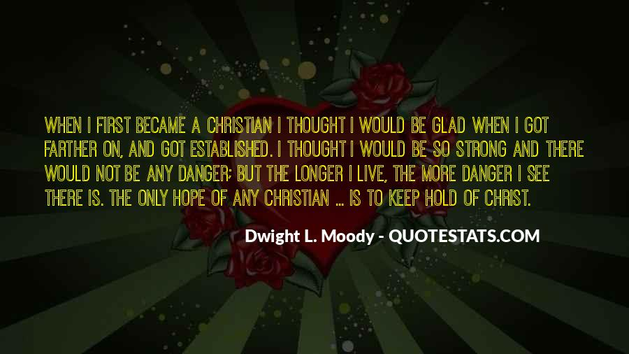 Quotes About The Danger Of Hope #765885