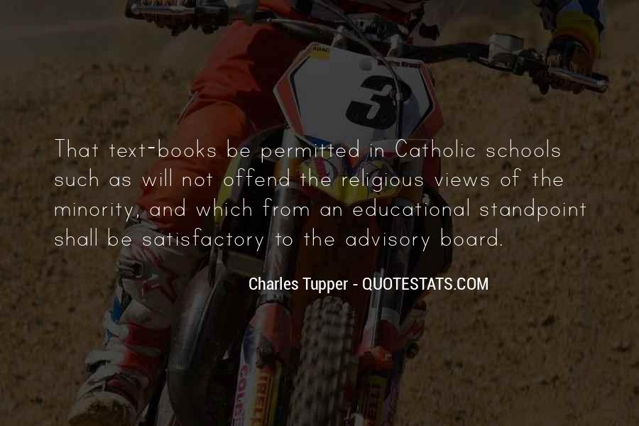 Quotes About Catholic Schools #115773