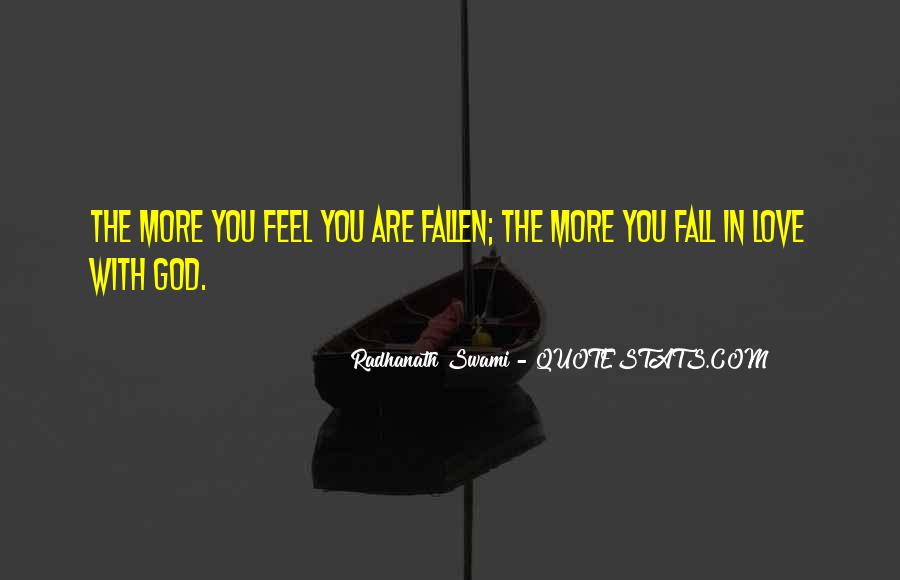 Quotes About Falling More In Love #106705