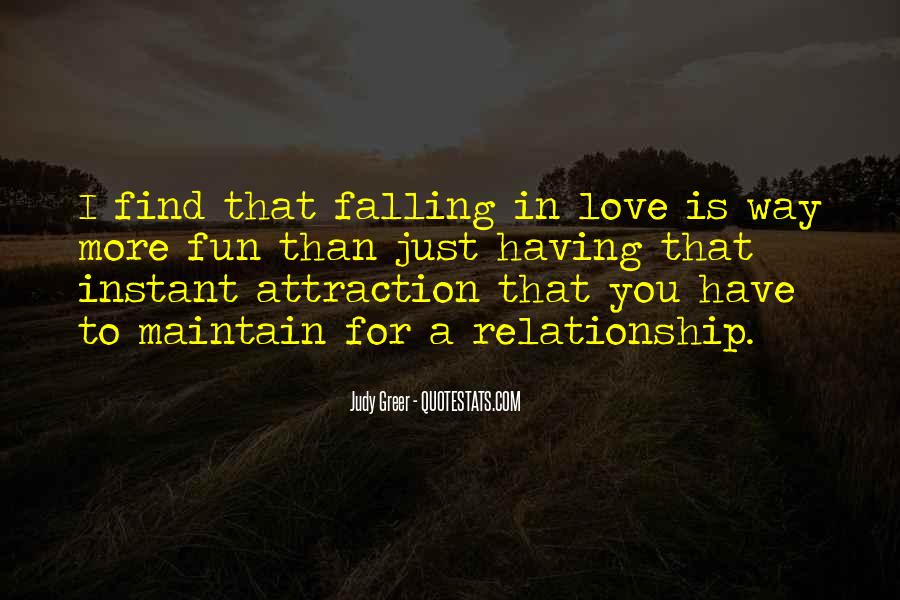 Quotes About Falling More In Love #1352293