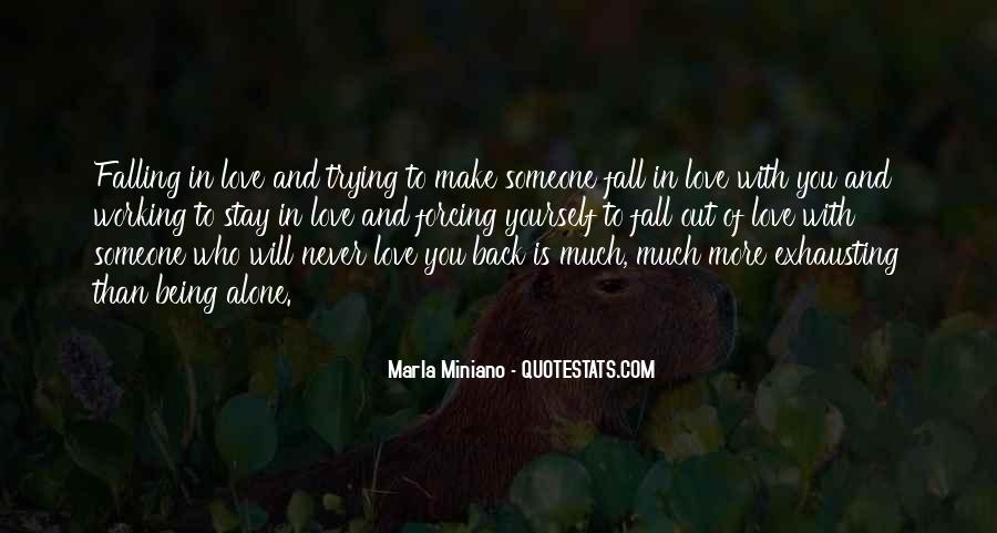 Quotes About Falling More In Love #1448630