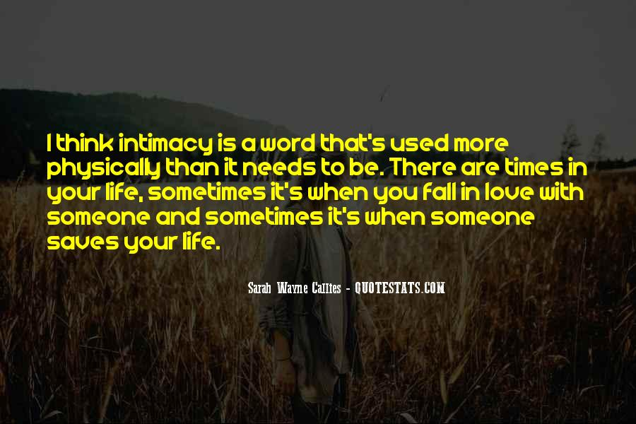 Quotes About Falling More In Love #1847625