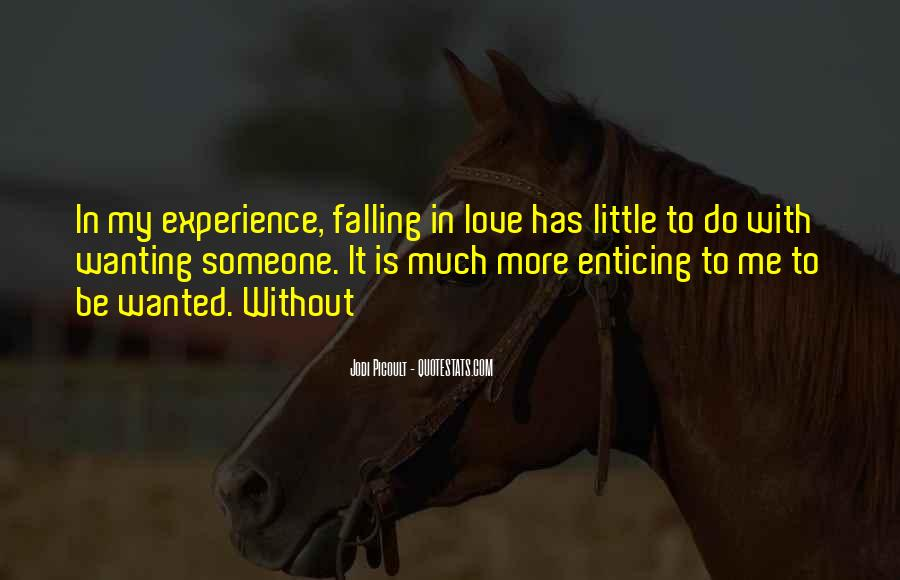 Quotes About Falling More In Love #504481