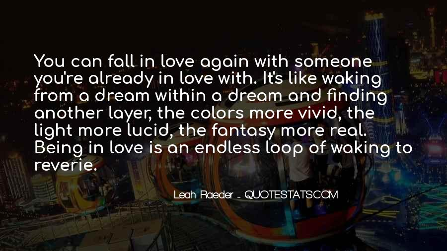 Quotes About Falling More In Love #521398