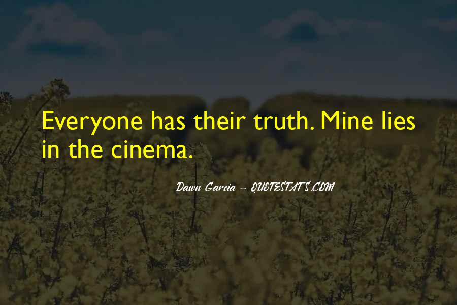 Quotes About Cinema Film #340261