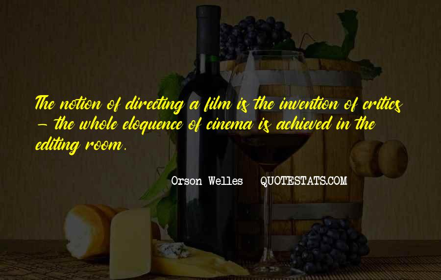 Quotes About Cinema Film #368291