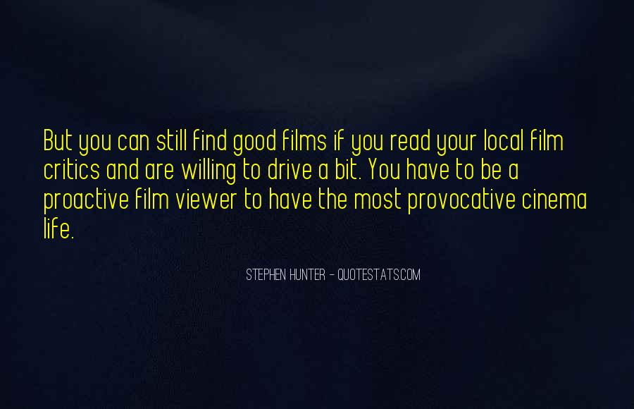 Quotes About Cinema Film #433235