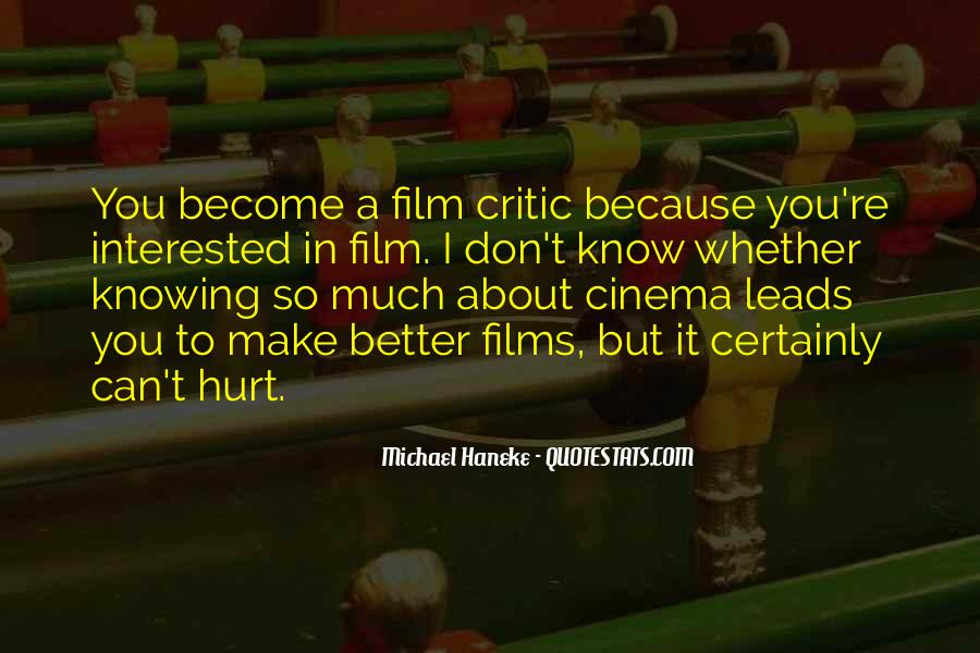 Quotes About Cinema Film #678859