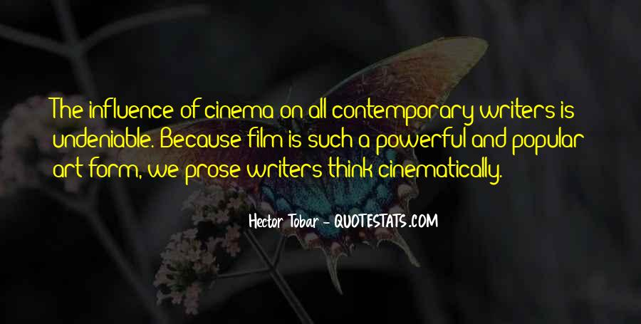 Quotes About Cinema Film #962973