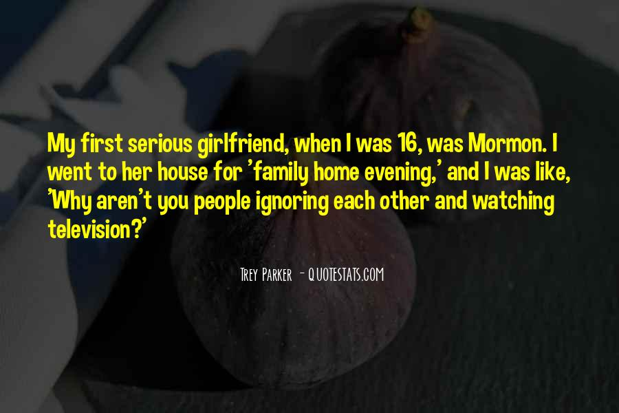 Quotes About Ignoring Your Girlfriend #56884