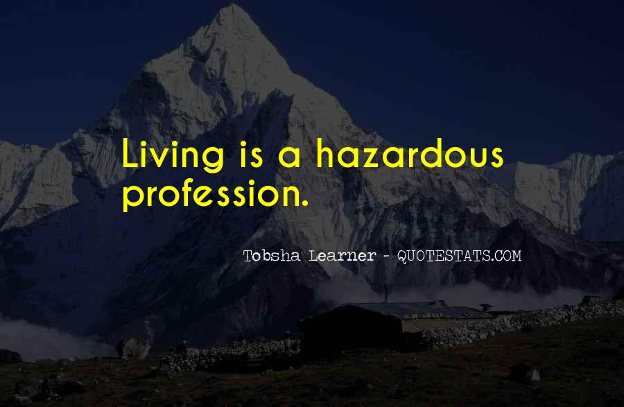 Quotes About Profession #3091