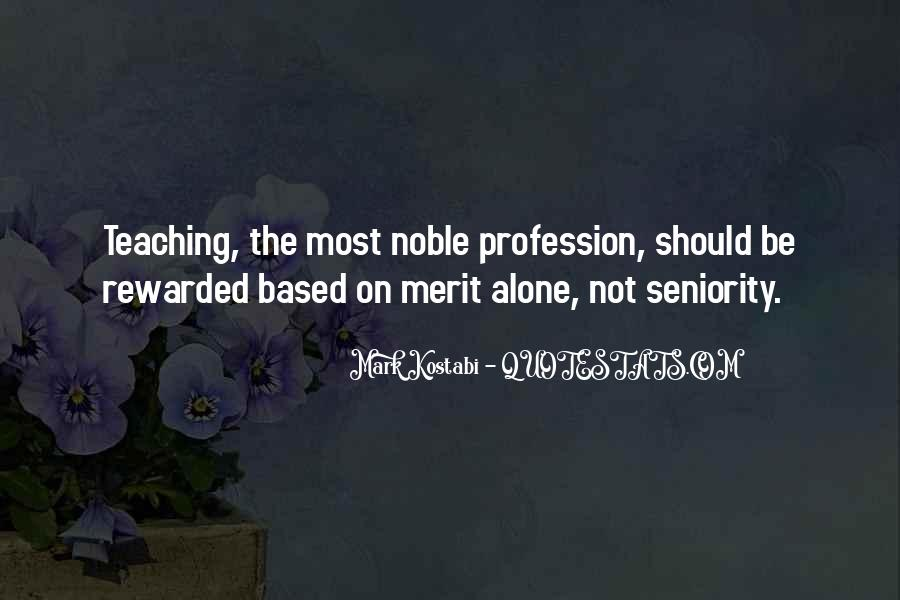 Quotes About Profession #82508