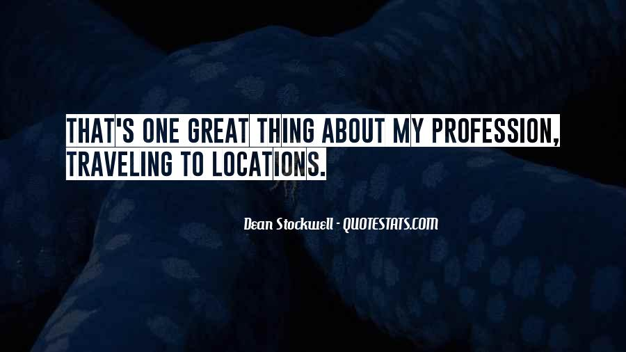 Quotes About Profession #90932