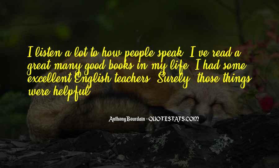 Quotes About Excellent Teachers #712391