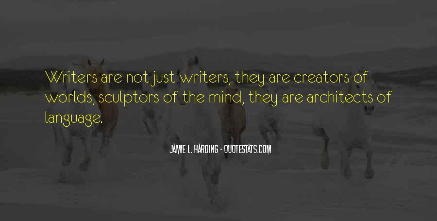 Quotes About Sculptors #1573681